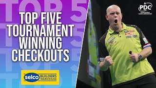 TOP 5 | Tournament Winning Checkouts