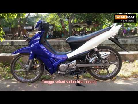 SAMURAI REPAINT OF WHOLE MOTORCYCLE THAILAND