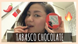 Hi I'm Yuki, a Japanese-Filipino in Japan     Trying the TABASCO CHOLATE watch and find out how it taste :) THANK YOU FOR WATCHING !!! Hope you like ...