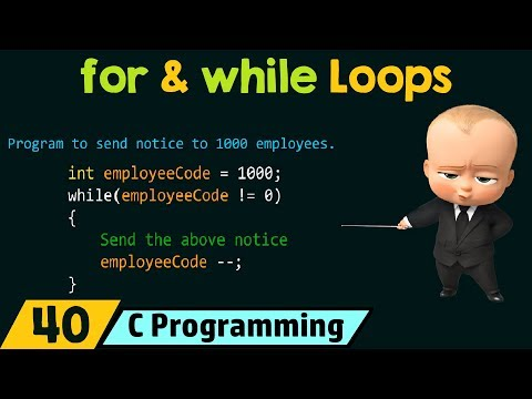 C do loop without while true