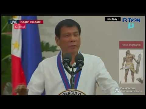 """I will  Kill You"" President Duterte Message To All Drug Lords"
