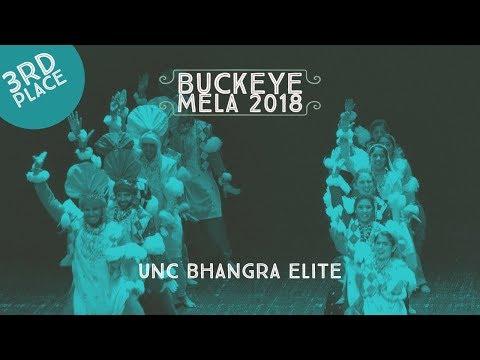 UNC Bhangra Elite - Third Place @ Buckeye Mela 2018