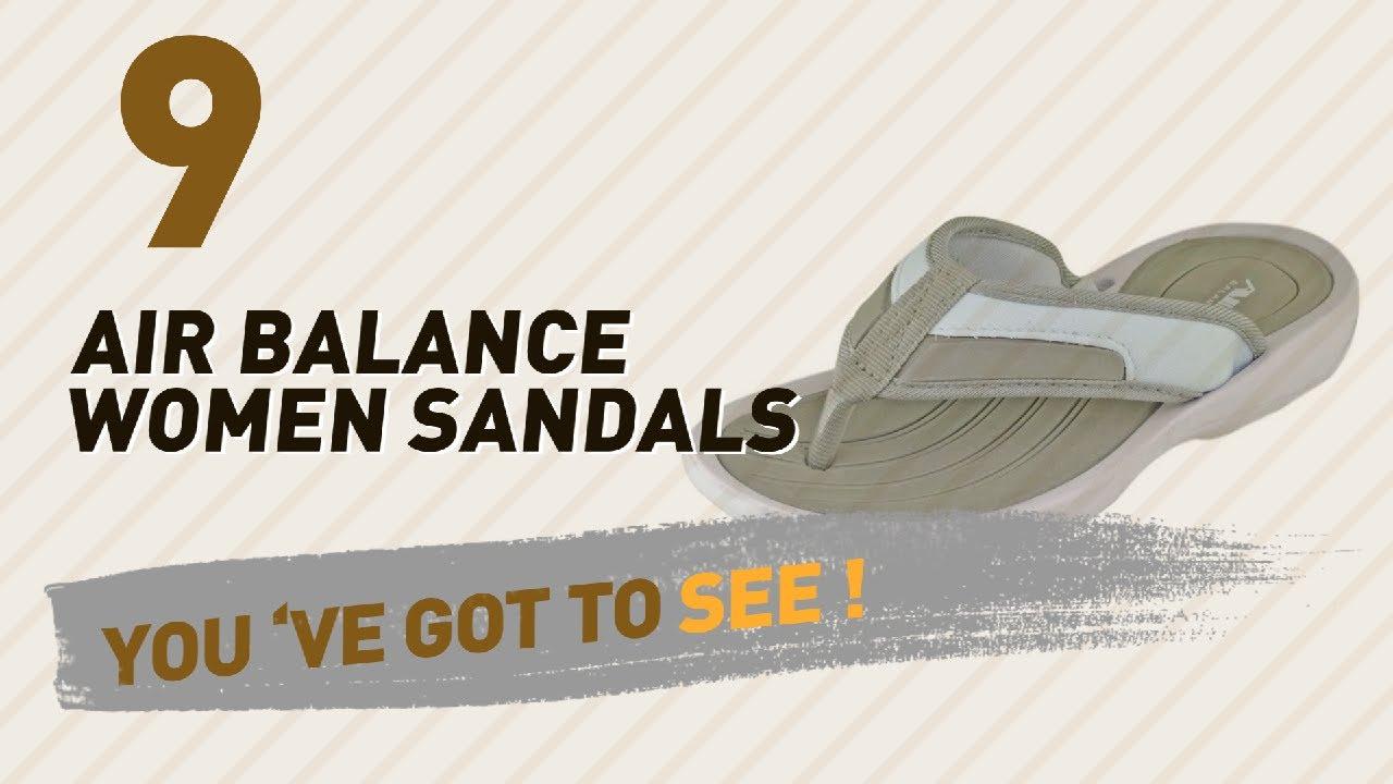 2d2eccf44732 Air Balance Women Sandals    New   Popular 2017 - YouTube