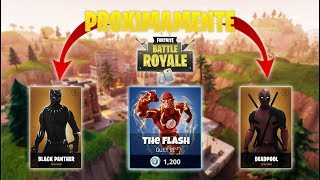 THE HEROES OF FORTNITE SERAN OF DC COMICS AND MARVEL!? Fortnite Skins Battle Pass 4 skins