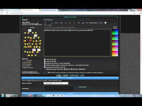 Jak přidat mp3 z Kiwi6.Com na ForumMp3.CZ