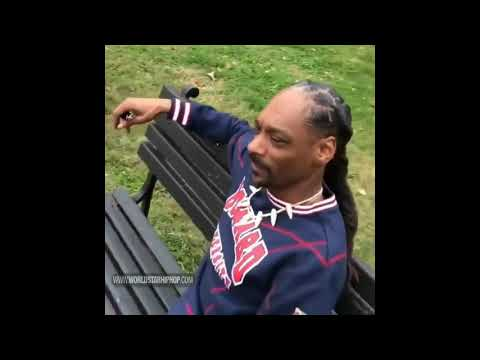 """Snoop Dogg Smokes A Blunt Near The White House & Says """"F**k The President"""""""