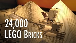 LEGO Great Pyramid of Giza | Museum of Science and Industry