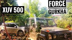 Force Gurkha and Mahindra XUV 500 comparison