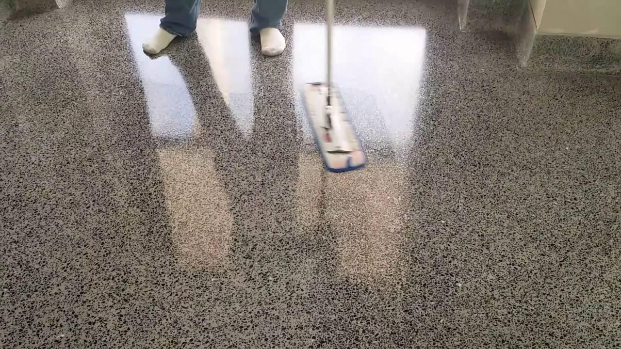 How To Apply High Gloss Sealer To Tarrazzo Floor