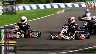 Super 1 British Karting Champs. 2018 Rd 3, Pt 4, Jnr TKM Class
