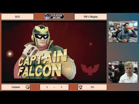 SCC LML Draxsel (Cloud/Falcon/Mario) vs FC (Diddy) Wii U SIngles