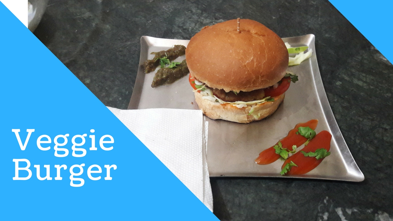 VEGGIE BURGER - YouTube
