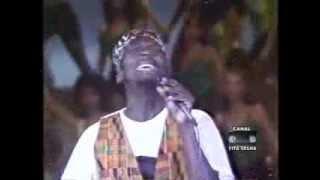 Jimmy Cliff - Rebel in Me - Domingão do Faustão 1990