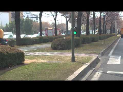 Autobus Ardiendo En Sevilla