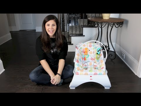 BG Review: Fisher Price Comfort Curve Bouncer for Baby