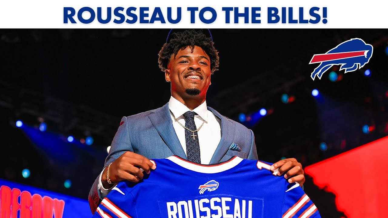 Twitter reacts to the Bills selection of Greg Rousseau