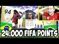 FIFA 18 PACK OPENING - CERCO UN ICONA E TROVO DI TUTTO! IF E TOP PLAYER LIVE (24.000 FIFA POINTS)