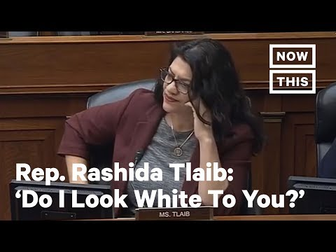 Rashida Tlaib Questions Why 2020 Census Erases Middle Eastern & North African Identity | NowThis