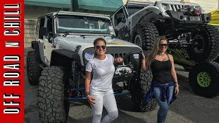 Biggest Jeep Wrangler Meet in Miami | 4x4 Cartel | Jeep Wrangler JK TJ Yj Cherokee XJ | Jeep Show