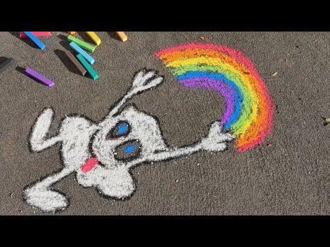 Let's Chalk: How-to for kids!