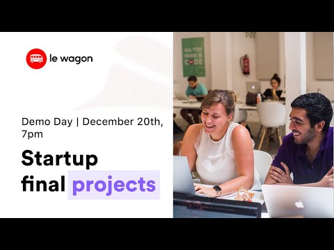 Coding Bootcamp Barcelona | Le Wagon Demo Day #341