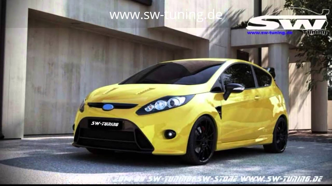 sw tuning bodykits f r ford fiesta mk7 ja8 youtube. Black Bedroom Furniture Sets. Home Design Ideas