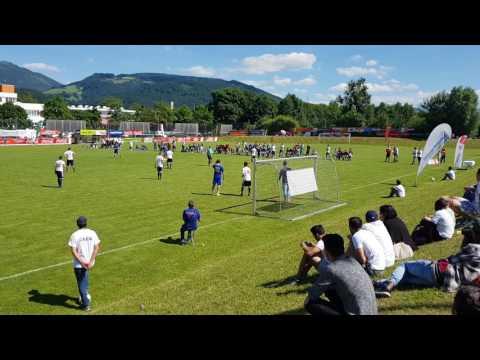 Bosnien 0-0 (3-1) Mazedonien Integrations-Fußball: WM Salzburg