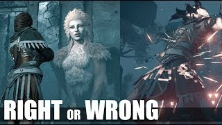 The Sphinx Legendary Creature Boss (Wrong Answer VS Right Answer) Assassin's Creed Odyssey