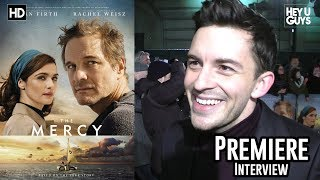 Jonathan Bailey - The Mercy Premiere Interview