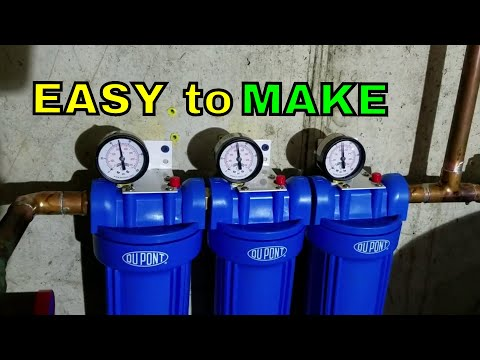 DIY Multi Stage Water Filtration System
