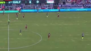 Claudio Gomes debut vs Liverpool