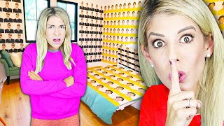 I Filled Maddie's Room with Pictures of Her Ex Boyfriend Crush! (Bad Idea) | Rebecca Zamolo