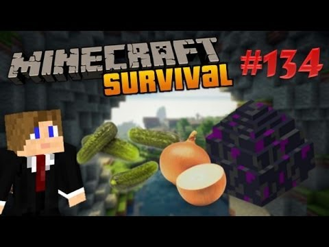 Minecraft Survival - Gooien met Augurken en Uiensap - Deel 134