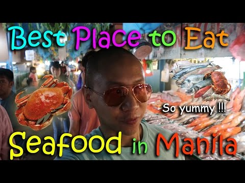 BEST PLACE TO EAT SEAFOOD IN MANILA | March 6th, 2017 | Vlog