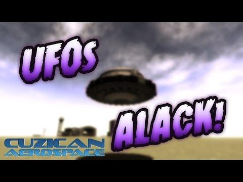 UFOs Alack! (KSP Kerbal Foundries craft)
