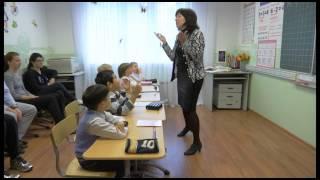 Урок обучения грамоте в подготовительном классе