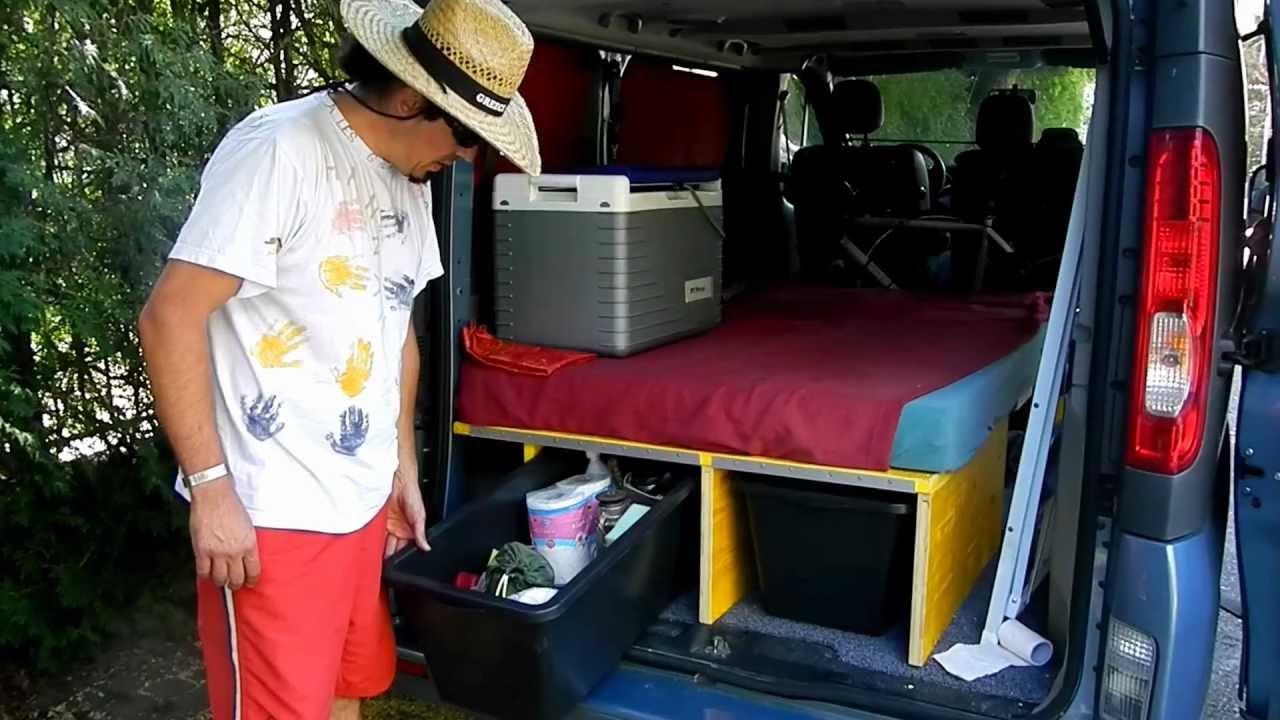 campingumbau renault trafic sch rgi13 youtube. Black Bedroom Furniture Sets. Home Design Ideas