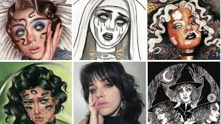 Staten Islander Jessica Lauser reaches 1 million followers on TikTok for her haunted illustrations