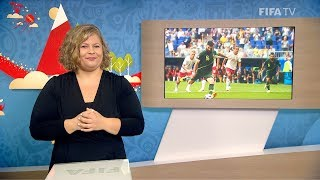 FIFA WC 2018 - DEN vs. AUS - for Deaf and Hard of Hearing - International Sign