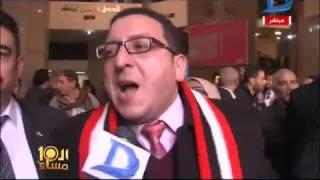 العاشرة مساء|فرحة عارمة بمحيط مجلس الدولة و هتافات تيران وصنافير مصرية