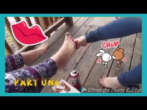 DRUNK GIRLS PLAY FOOTSIE!?! PART 1 (NOT FOR KIDS)