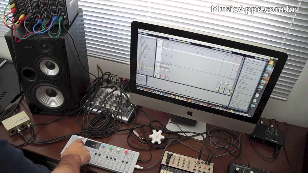 synth jam 08 teenage engineering op 1 korg volca keys and emw modular synthesizer youtube. Black Bedroom Furniture Sets. Home Design Ideas