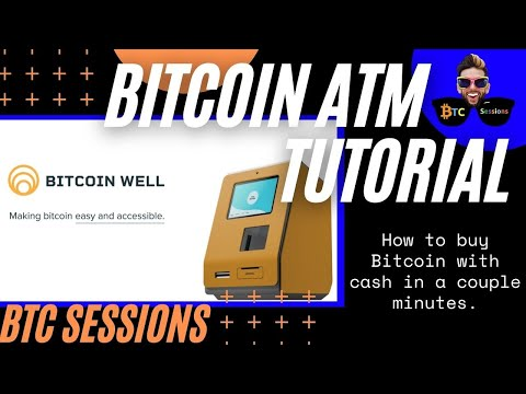 How To Use A Bitcoin ATM - Buy BTC With Cash Instantly