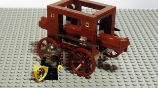 LEGO Tutorial | How to Build a Battering Ram
