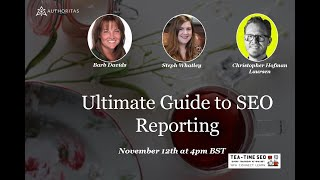 Ultimate Guide to SEO Reporting