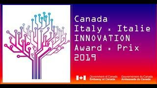 Premio Canada-Italia per l'Innovazione 2019