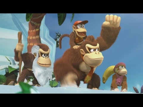 Donkey Kong Country: Tropical Freeze - All Bosses