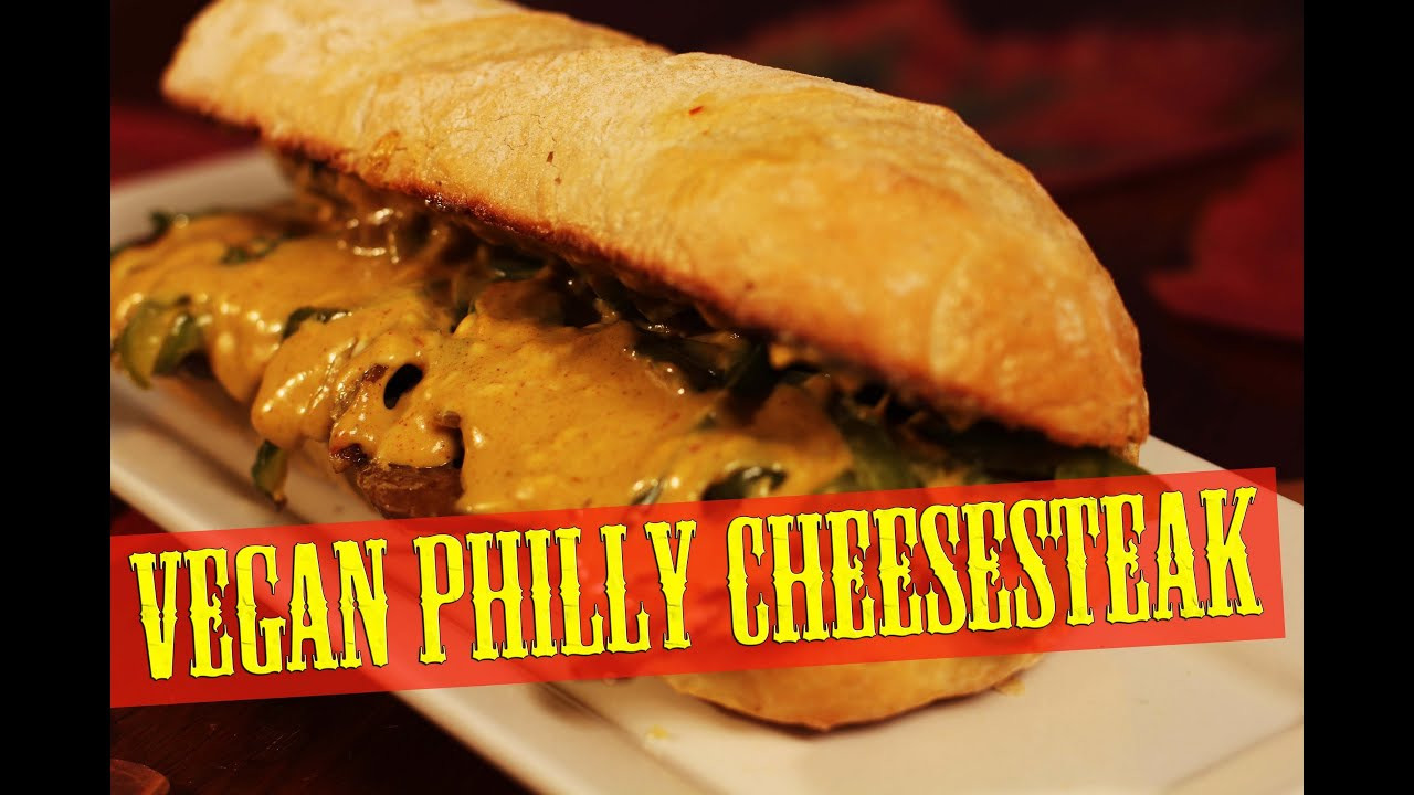 Philly Cheesesteak Recipe | Vegan | The Vegan Zombie - YouTube