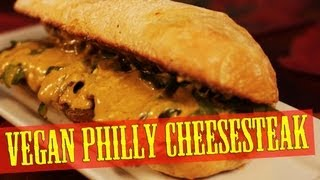 Philly Cheesesteak Recipe | Vegan | The Vegan Zombie