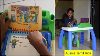 Leap Frog - My First LeapPad Learning Desk - Review!